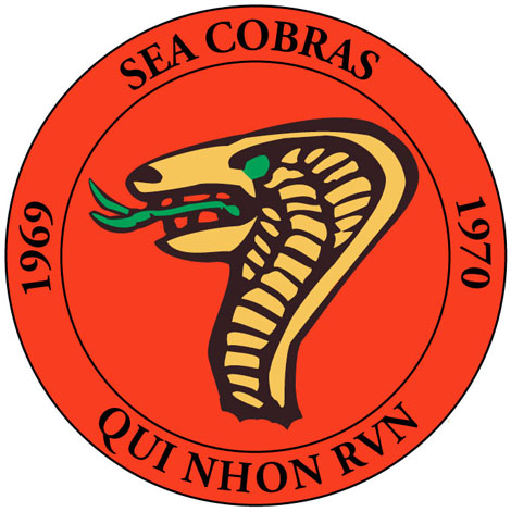 mock up of front side of the sea cobra challenge coin