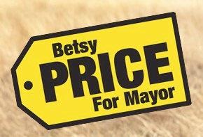 betsy price mayoral sign