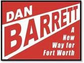 dan barrett mayoral sign