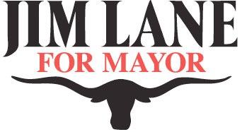 jim lane mayoral sign