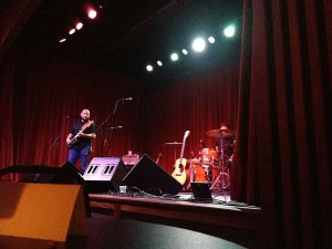 David Bazan of Overseas at Live Oak